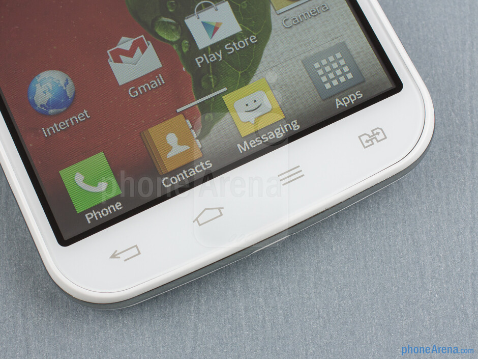 Capacitive buttons - LG Optimus L7 II Review
