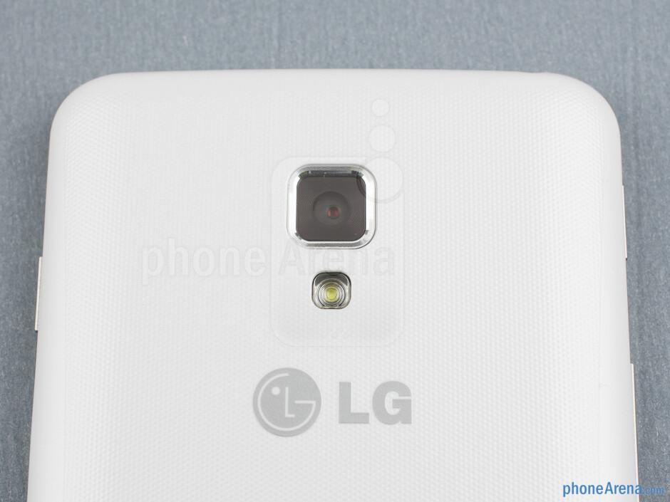 Rear camera - Back - LG Optimus L7 II Review