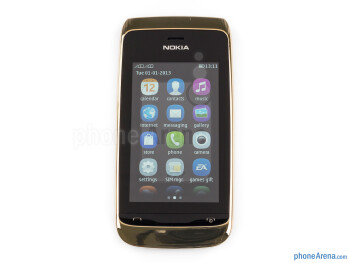 Front - Nokia Asha 310 Review