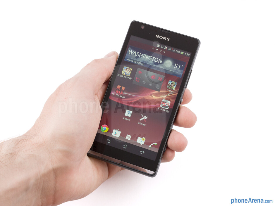 We find the Sony Xperia SP very comfortable to handle - Sony Xperia SP Review