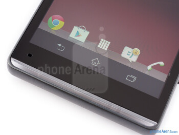 The trademark transparent strip is on the bottom of the phones faceplate - Sony Xperia SP Review