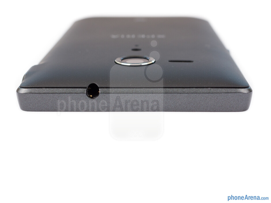 The headset jack is on the top - Sony Xperia SP Review