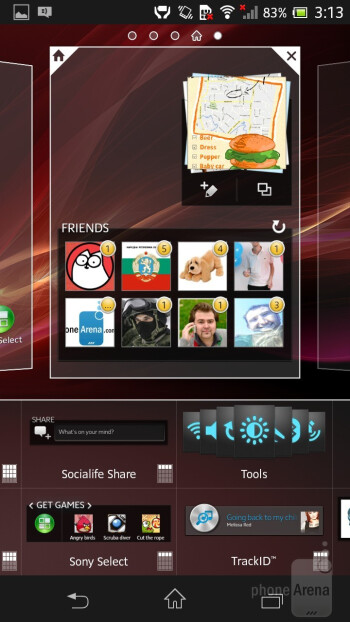 Sony's custom UI is layered on top of Android 4.1.2 Jelly Bean - Sony Xperia SP Review
