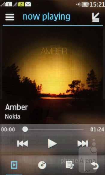 Music player - Nokia Asha 310 Review
