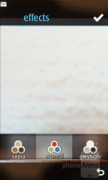 Camera interface - Nokia Asha 310 Review