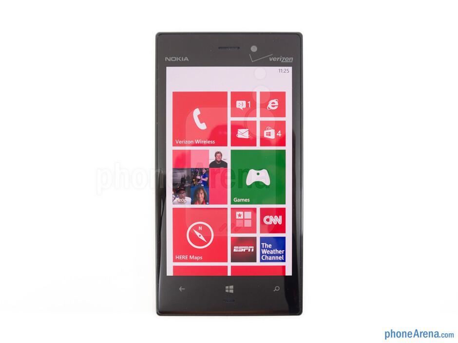 Viewing angles of the Nokia Lumia 928 - Nokia Lumia 928 Review