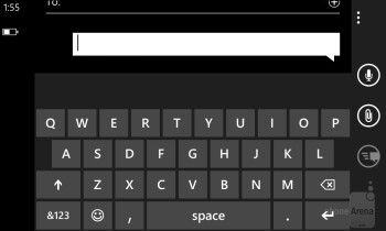 On-screen keyboards on the Nokia Lumia 928 - Nokia Lumia 928 Review