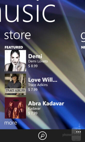 Nokia Music - Nokia Lumia 928 - Nokia Lumia 928 vs Apple iPhone 5