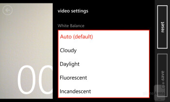 Camera interface of the Nokia Lumia 928 - Nokia Lumia 928 vs Apple iPhone 5