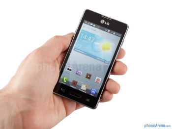 The LG Optimus L5 II is an okay-looking handset of decent build quality - LG Optimus L5 II Review