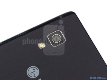 Rear camera - The sides of the LG Optimus L5 II - LG Optimus L5 II Review