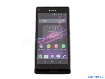 Front - Sony Xperia L Review