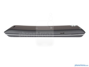 Left - The sides of the Sony Xperia L - Sony Xperia L Review