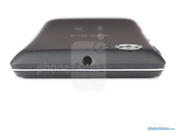 Top - The sides of the Sony Xperia L - Sony Xperia L Review