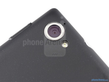 Rear camera - The sides of the Sony Xperia L - Sony Xperia L Review