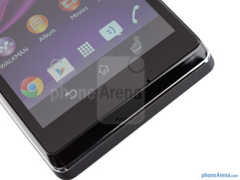 Capacitive Android keys - Sony Xperia L Review