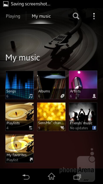 The Walkman music player - Sony Xperia L Review