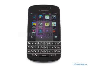 The 3.1-inch screen is quite small by today's standards - BlackBerry Q10 Review