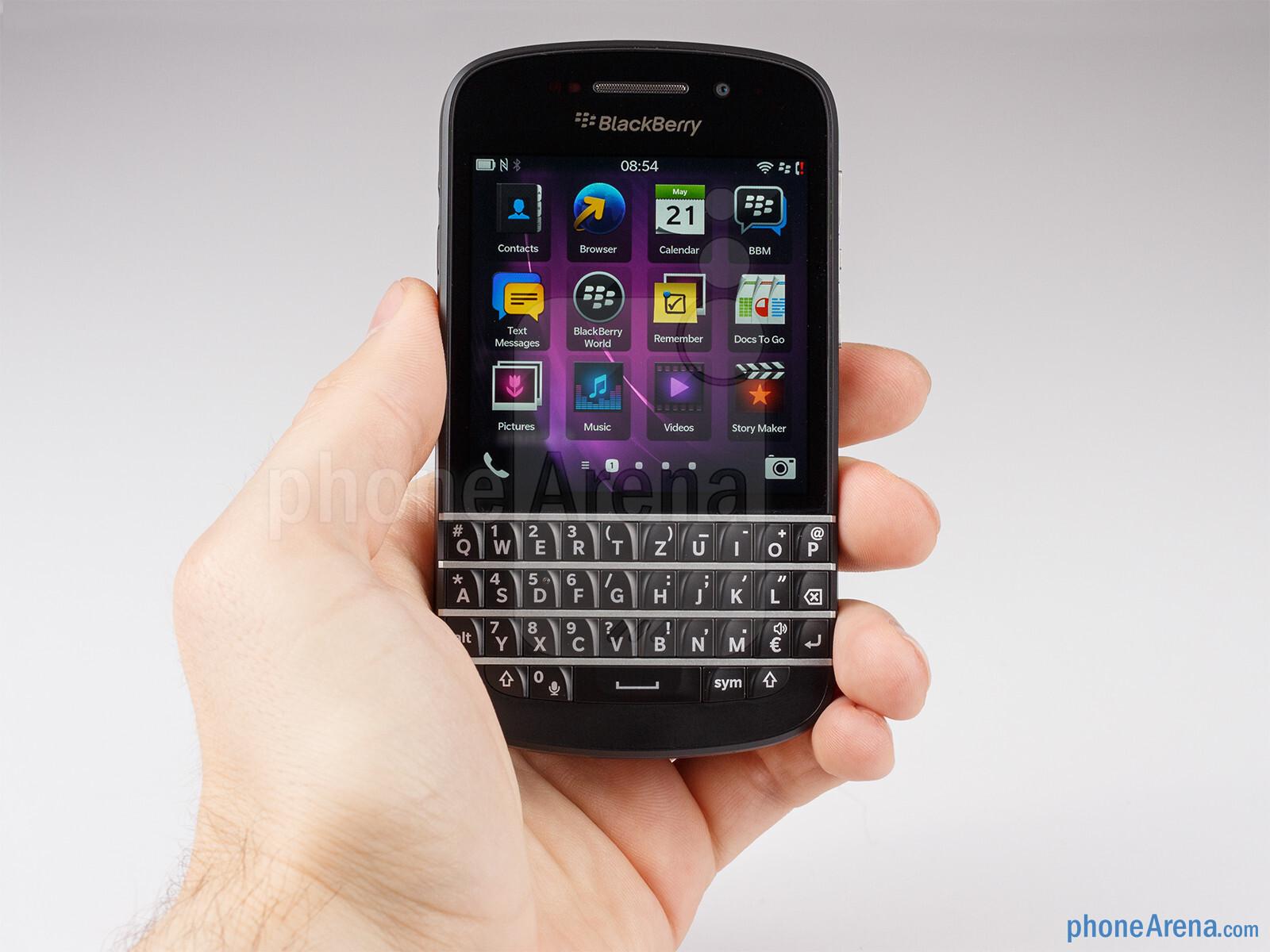 blackberry q10 review phonearena