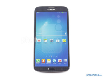Front - Samsung Galaxy Mega 6.3 Preview