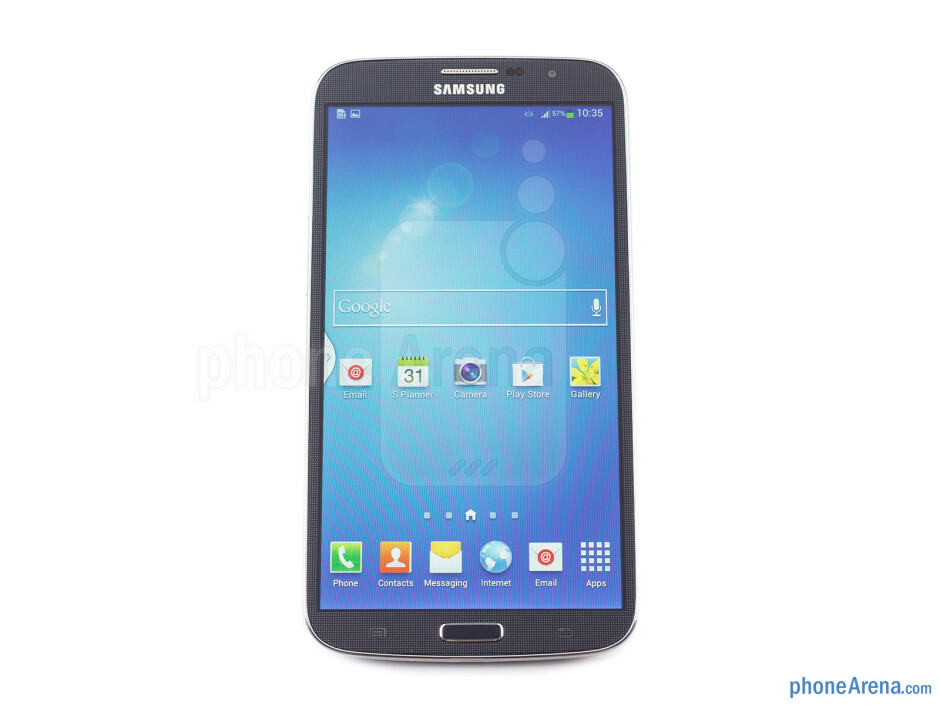 Front - Samsung Galaxy Mega 6.3 Preview