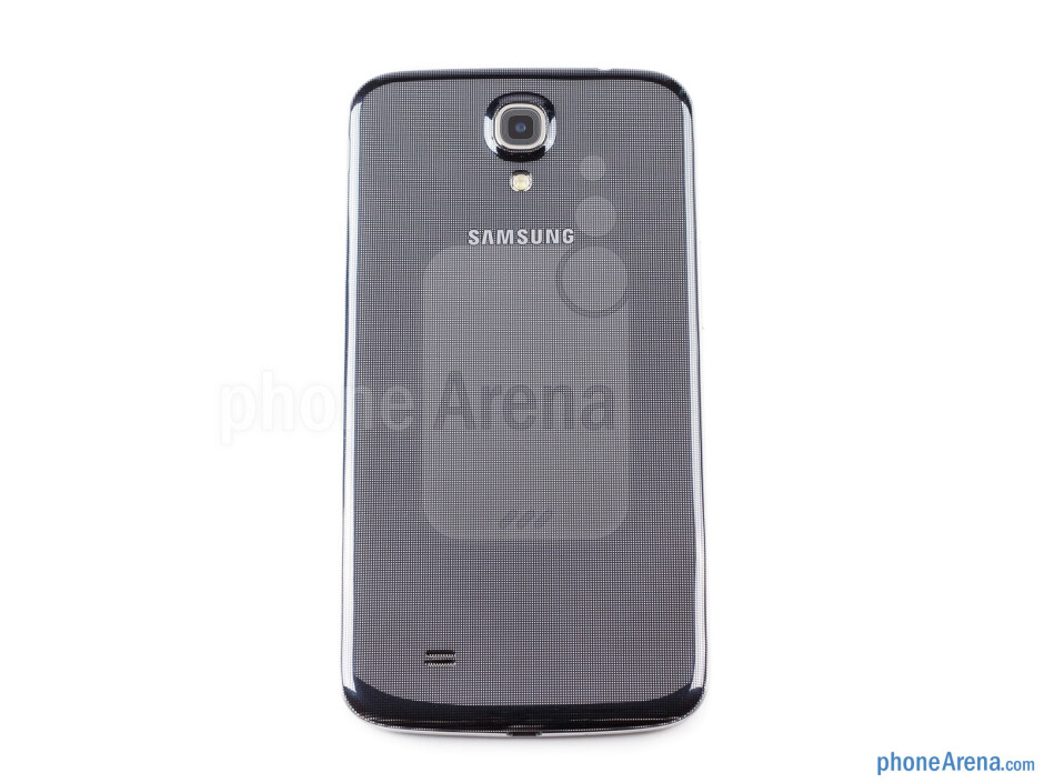 Back - The sides of the Samsung Galaxy Mega 6.3 - Samsung Galaxy Mega 6.3 Preview