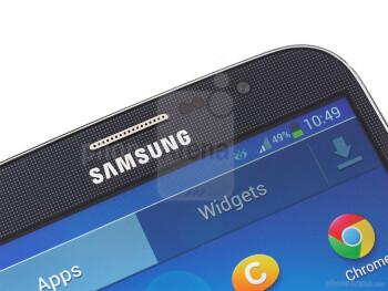 Front camera - Samsung Galaxy Mega 6.3 Preview