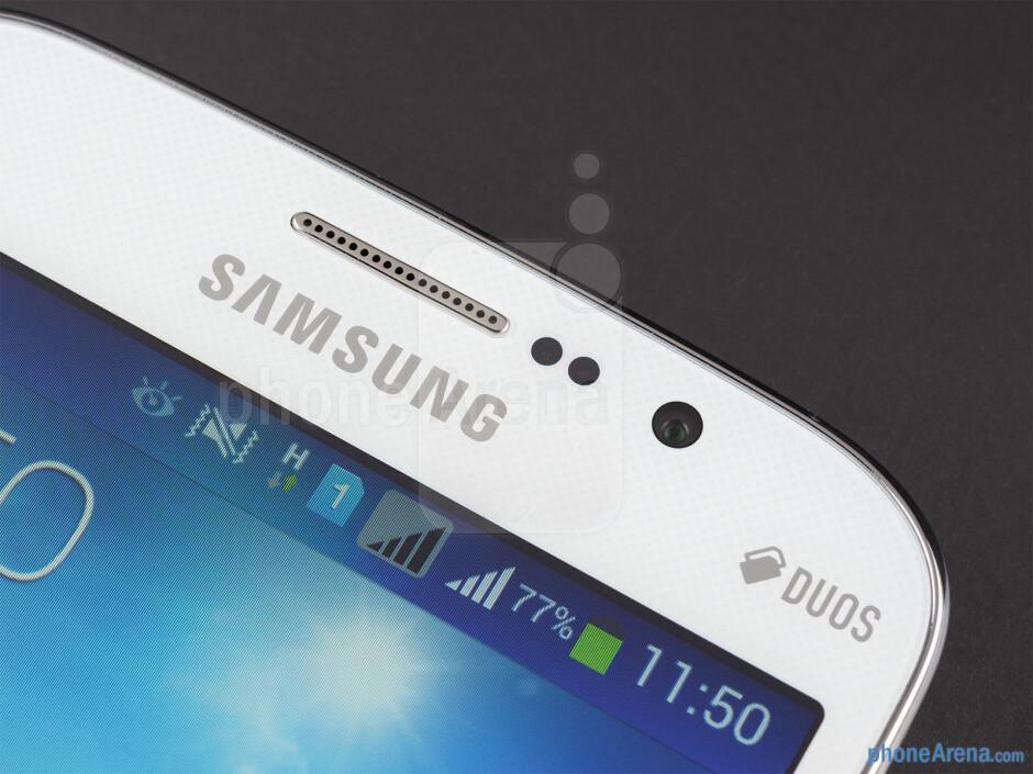 Front camera - Samsung Galaxy Mega 5.8 Review