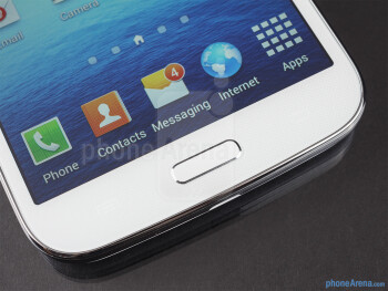 Android buttons - Samsung Galaxy Mega 5.8 Review