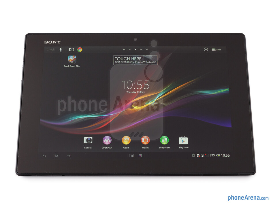 Front - Sony Xperia Tablet Z Review