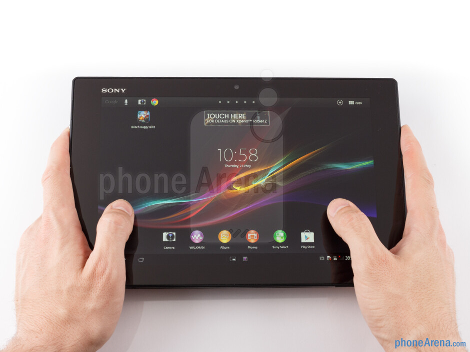 The Sony Xperia Tablet Z the thinnest and lightest Full HD 10-incher out there - Sony Xperia Tablet Z Review