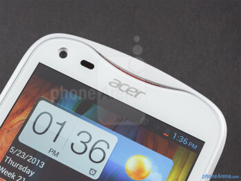 Front camera - Acer Liquid E2 Review