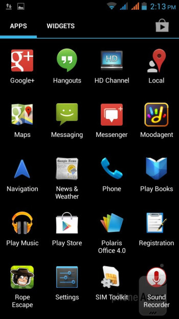 The Acer Liquid E2 run the stock Android 4.2.1 Jelly Beon OS - Acer Liquid E2 Review