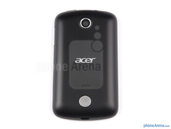 Back - Battery compartment - Acer Liquid Z2 Review