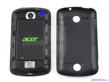Battery compartment - Acer Liquid Z2 Review
