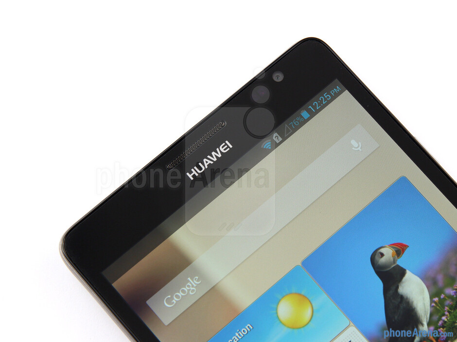 Front camera - Huawei Ascend Mate Review