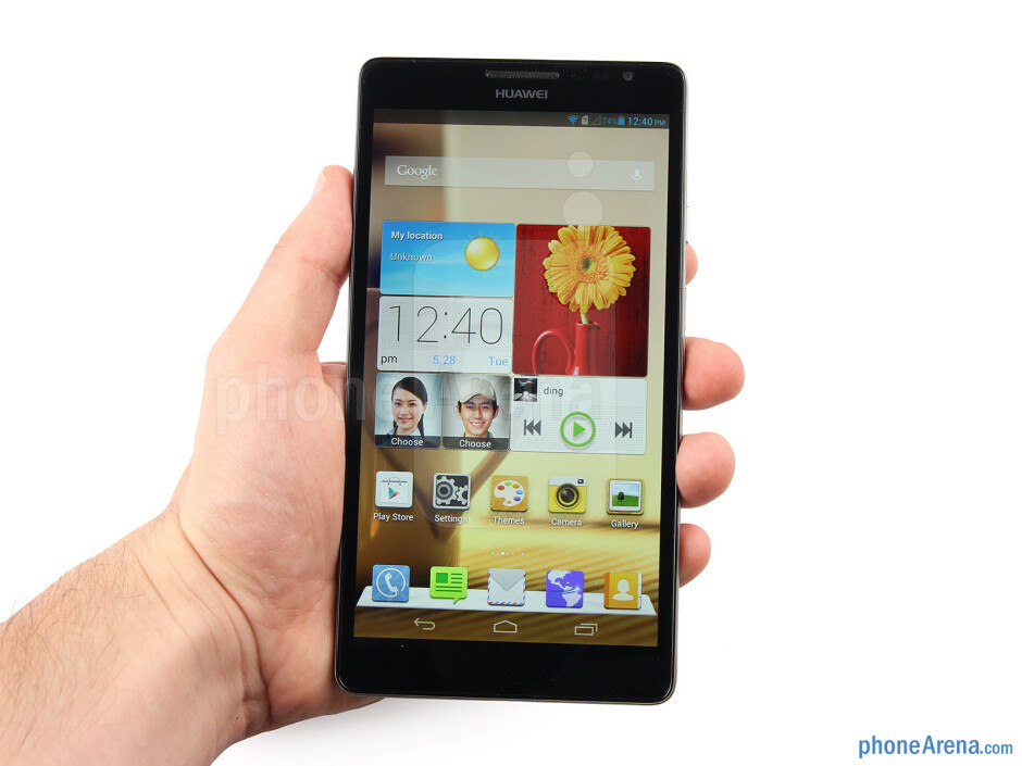 The Huawei Ascend Mate can be considered compact for its screen size - Huawei Ascend Mate Review