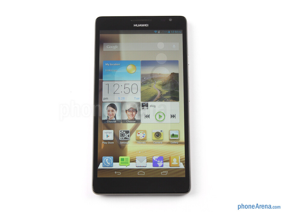 Front - Huawei Ascend Mate Review