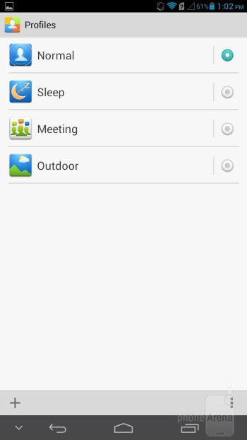 Profiles on the Huawei Ascend Mate - Samsung Galaxy Mega 6.3 vs Huawei Ascend Mate