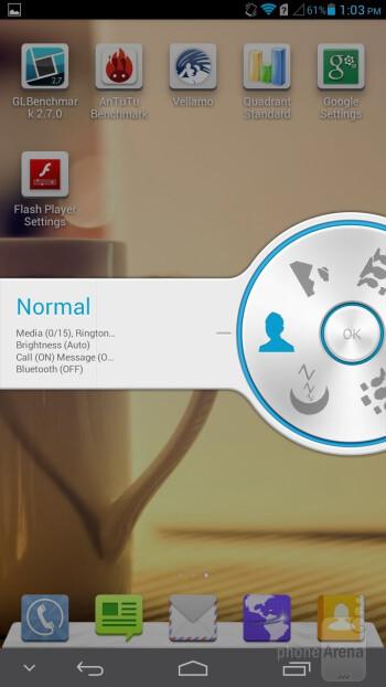 The jog dialer - Profiles on the Huawei Ascend Mate - Samsung Galaxy Mega 6.3 vs Huawei Ascend Mate