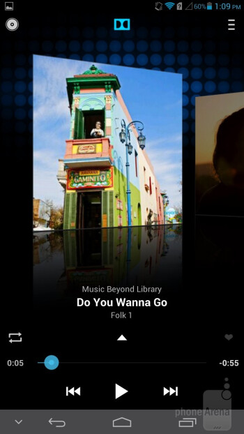 Music player - Huawei Ascend Mate Review