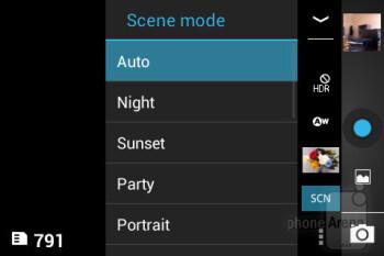 Camera interface - Acer Liquid Z2 Review