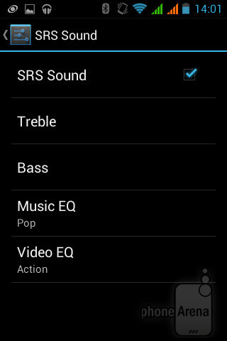 The music player of Acer Liquid Z2 - Acer Liquid Z2 Review