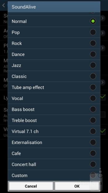 The music player of the Samsung Galaxy Mega 6.3 - Samsung Galaxy Mega 6.3 Review
