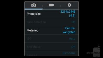Camera app - Samsung Galaxy Mega 6.3 Review