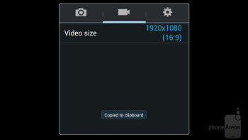 Camera app of the Samsung Galaxy Mega 6.3 - Samsung Galaxy Mega 6.3 vs Huawei Ascend Mate