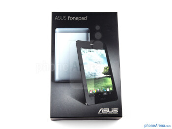 Box and contents - Asus Fonepad Review
