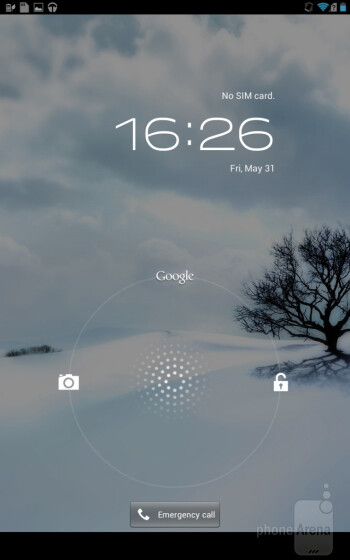 The Asus Fonepad comes with Android 4.1.2 pre-loaded - Asus Fonepad Review