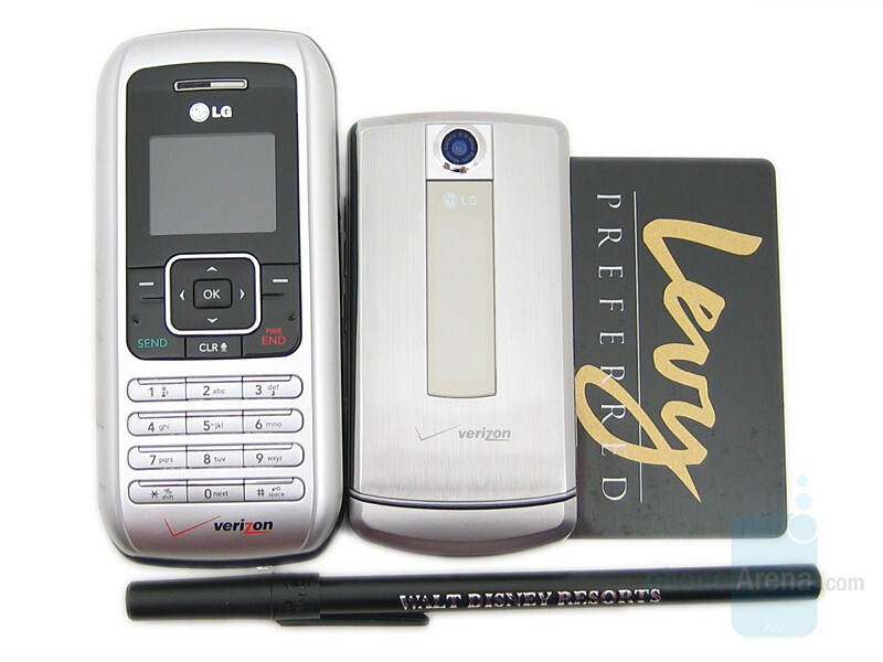LG enV (VX9900) and LG VX8700 - LG VX8700 Preview
