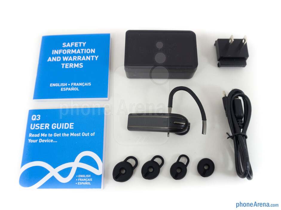 Box and contents - BlueAnt Q3 Review